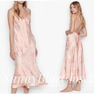 NWT Victoria's Secret Satin Asymmetrical Slip Dress